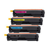 Compatible HP 410A Toner Cartridge Combo BK/C/M/Y - Economical Box