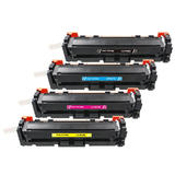 Compatible HP 410X Toner Cartridge High Yield Combo BK/C/M/Y - Economical Box