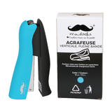 Stand-Up Stapler, Half-Strip, 20-Sheet Capacity - Moustache®