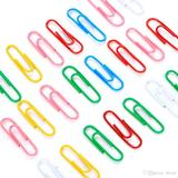#1 Paper Clips, Assorted Colors, 100 pcs/Box - Moustache®