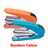 Labour-Saving Plastic Stapler, Blue / Orange (Random Colour) - Moustache®