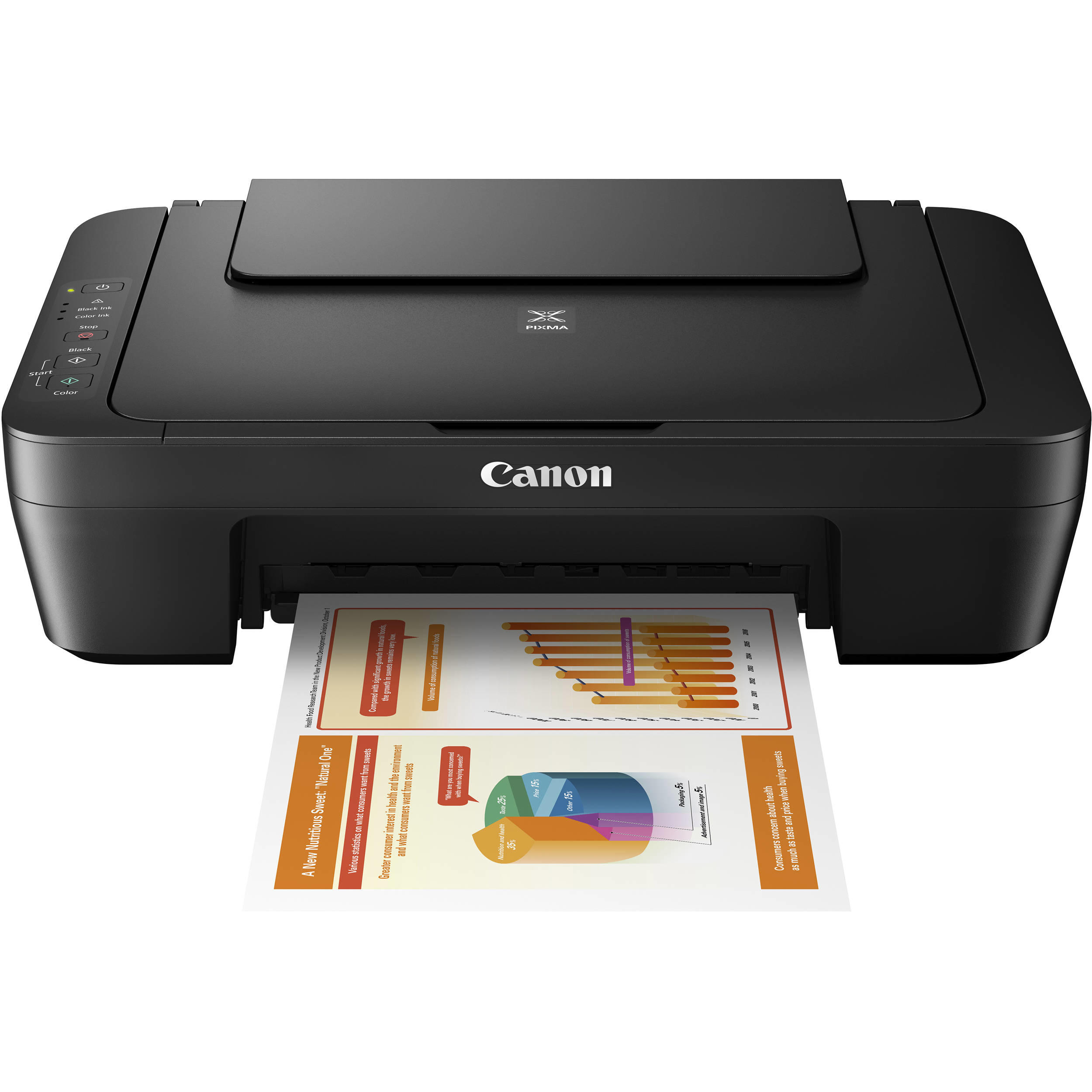 Canon PIXMA MG2525 All-in-One Color Inkjet Printer – Open Box
