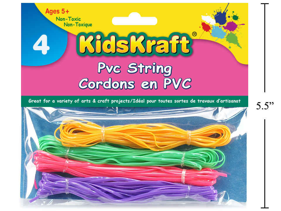 KD.Kr. 3 Bundles Pvc String, 14 (L), pbh.