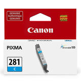 Canon CLI-281 Original Cyan Ink Cartridge (2088C001)