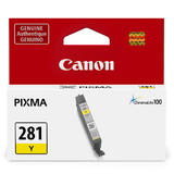Canon CLI-281 Original Yellow Ink Cartridge (2090C001)