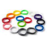 3D Printer and Printing Pen PLA Filament, 15 Colors - Moustache®