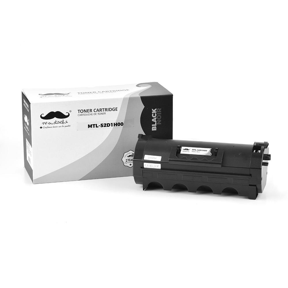 Lexmark 521H 52D1H00 Compatible Black Toner Cartridge High Yield - Moustache®