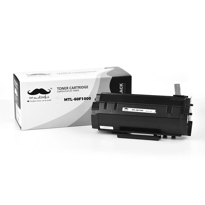 Lexmark 601 60F1000 Compatible Black Toner Cartridge - Moustache®