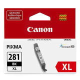 Canon CLI-281XL Original Black Ink Cartridge High Yield (2037C001)