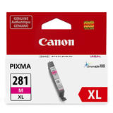 Canon CLI-281XL Original Magenta Ink Cartridge High Yield (2035C001)