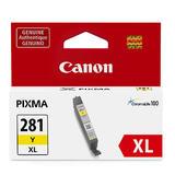 Canon CLI-281XL 2036C001 Original Yellow Ink Cartridge High Yield