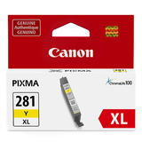 Canon CLI-281XL Original Yellow Ink Cartridge High Yield (2036C001)