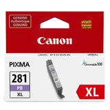 Canon CLI-281XL 2038C001 Original Photo Blue Ink Cartridge High Yield