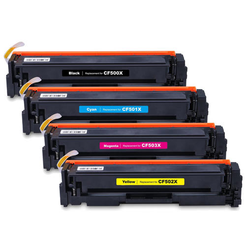 Compatible HP 202X CF500X CF501X CF502X CF503X Toner ...