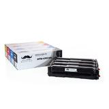 Compatible HP 204A CF510A CF511A CF512A CF513A Toner Cartridge Combo BK/C/M/Y - Moustache®