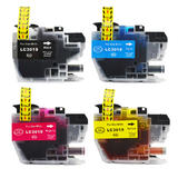 Brother LC3019 XXL Compatible Ink Cartridge Combo Extra High Yield BK/C/M/Y - Economical Box