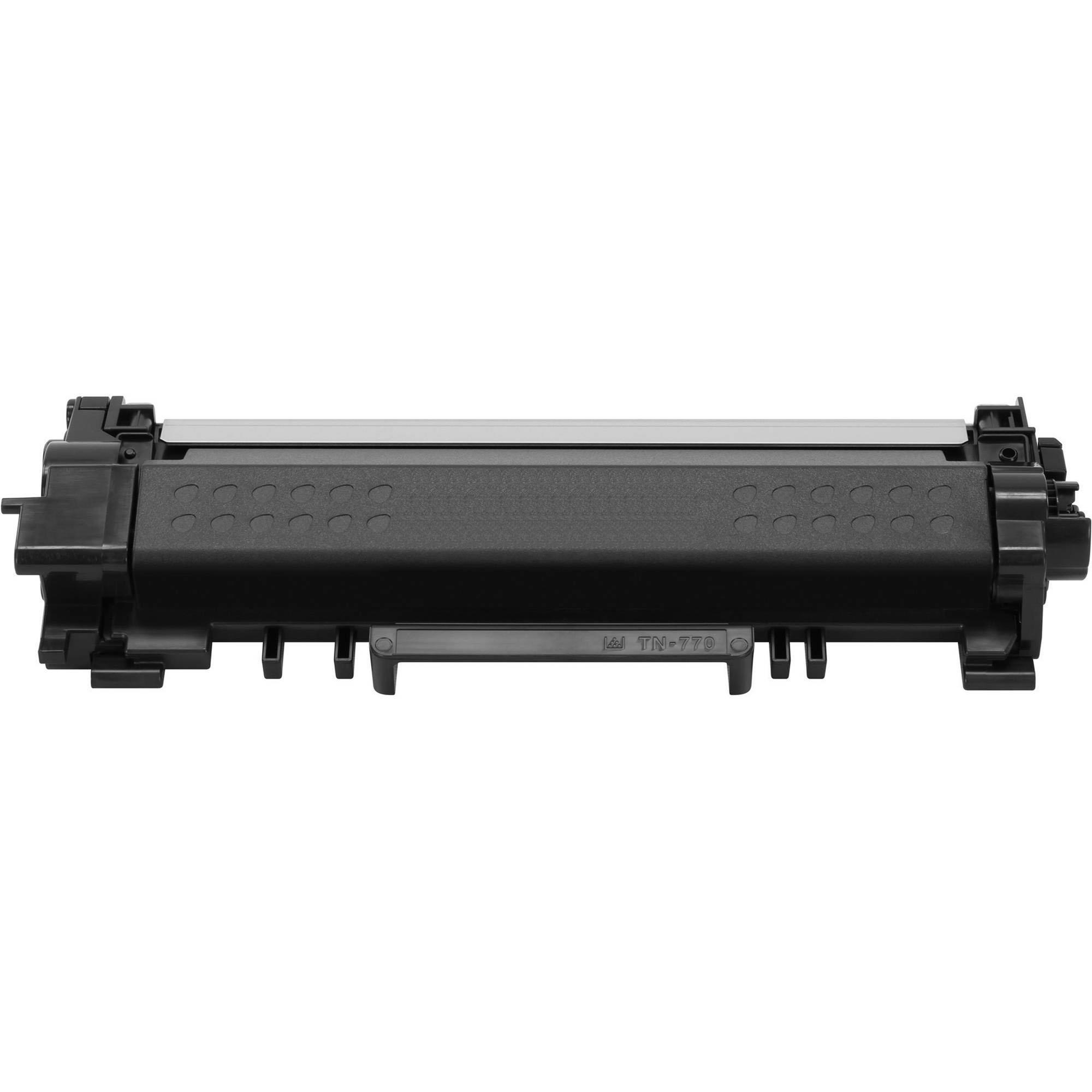 Brother TN770 Compatible Black Toner Cartridge Extra High Yield - No Chip - Economical Box