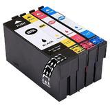 Epson T802XL-BCS Compatible Ink Cartridge High Yield Combo BK/C/M/Y - Moustache®