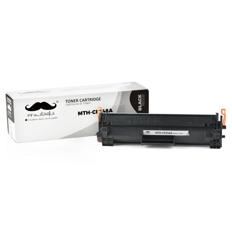 Compatible HP 48A CF248A Black Toner Cartridge - Moustache®