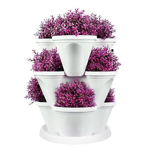 Jardini re empilable jardini re verticale auto irrigante - Jardiniere verticale ...