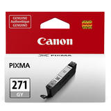 Canon CLI-271GY Original Gray Ink Cartridge (0394C001AA)