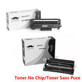 Brother TN730 DR730 Compatible Toner Cartridge and Drum Combo (No Chip for TN730) - Moustache®