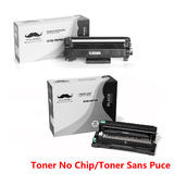 Brother TN760 DR730 Compatible Toner Cartridge and Drum Combo  ( No Chip for TN760 )  - Moustache®