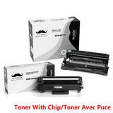 Brother TN760 DR730 Compatible Toner Cartridge and Drum Combo (With Chip for TN760) - Moustache®
