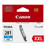 Canon CLI-281XXL Original Cyan Ink Cartridge Extra High Yield (1980C001)