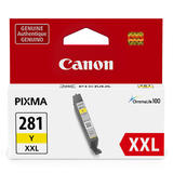 Canon CLI-281XXL Original Yellow Ink Cartridge Extra High Yield (1982C001)