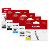 Canon PGI-280 CLI-281 Original Ink Cartridge Combo PGBK/BK/C/M/Y