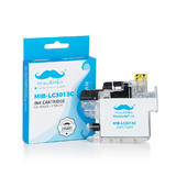 Brother LC3013C Compatible Cyan Ink Cartridge High Yield - With Chip - Moustache®
