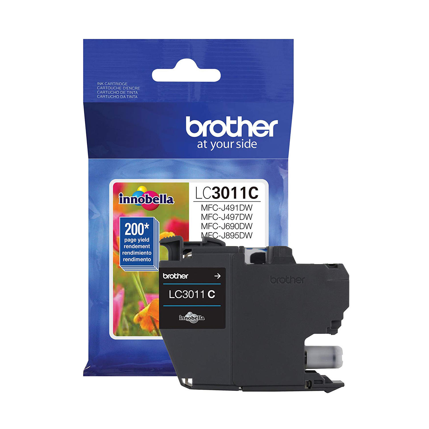 Brother LC3011C Original Cyan Ink Cartridge