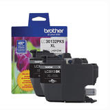 Brother LC30132PKS Original Black Ink Cartridge High Yield