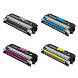 Konica Minolta A0V30 Compatible Toner Cartridge Combo High Yield BK/C/M/Y