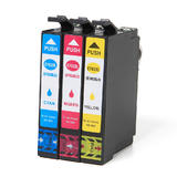 Epson T702XL Remanufactured Ink Cartridge High Yield Color Combo C/M/Y