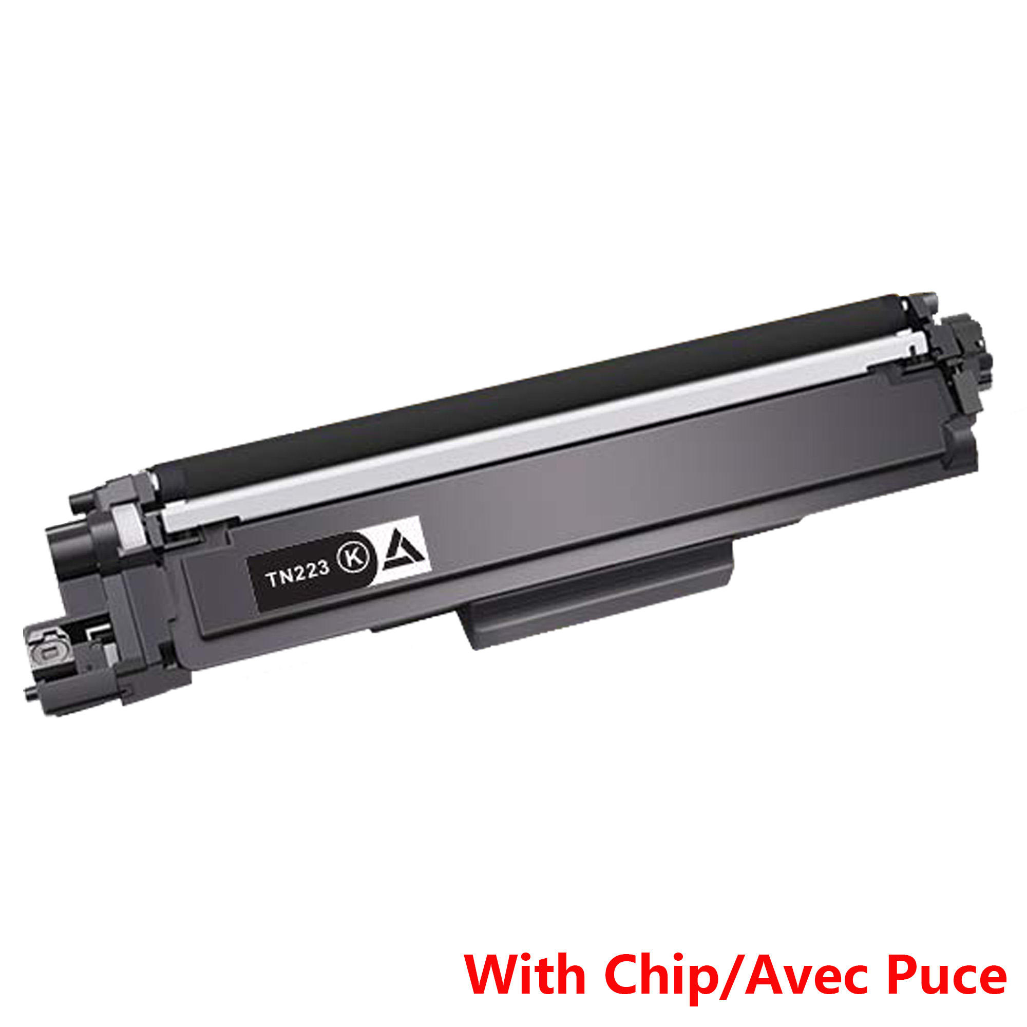 Brother TN223 Compatible Black Toner Cartridge - With Chip