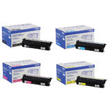 Brother TN439 Original Toner Cartridge Combo Ultra High Yield BK/C/M/Y 9000 Pages for Each