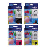 Brother LC203 Original Ink Cartridge Combo High Yield BK/C/M/Y