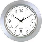 """Artistics® TimeKeeper 13"""" Chrome Bezel Wall Clock"""