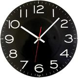 "Artistics® 11.5"" Analog Wall Clock, Black"