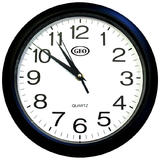 "Geo® 10"" Round Wall Clock, Quartz"