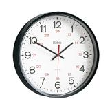 "Bates 12"" Commercial 12/24 Hour Clock"