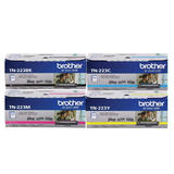 Brother TN223 Original Toner Cartridge Combo BK/C/M/Y