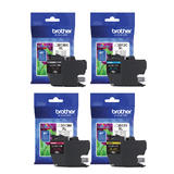Brother LC3013 Original Ink Cartridge Combo High Yield BK/C/M/Y