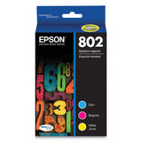 Epson T802 T802520 Original Ink Cartridge Combo C/M/Y