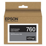 Epson 760 T760120 Original Photo Black Ink Cartridge
