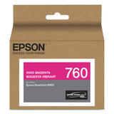 Epson 760 T760320 Original Vivid Magenta Ink Cartridge
