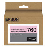 Epson 760 T760620 Original Vivid Light Magenta Ink Cartridge