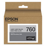Epson 760 T760920 Original Light Light Black Ink Cartridge
